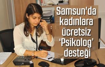 Kadınlara ücretsiz 'Psikolog' desteği - Samsun Haber