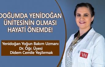VM Medical Park Yenidoğan yoğun bakımı hakkında bilgiler verdi