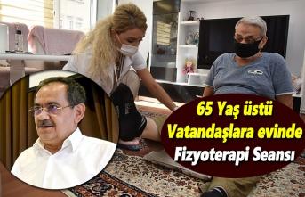 65 Yaş üstü vatandaşlara evinde Fizyoterapi Seansı