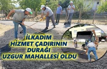 Başkan Demirtaş,Hizmet Çadırı Sorunların acil çözüm projesidir
