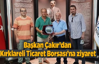 Başkanlar Kırklareli ve Samsun'un tarım ve hayvancılığını konuştu