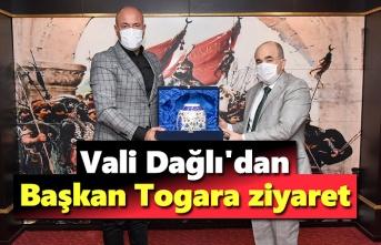 Samsun Valisi Dağlı'dan Başkan Togar'a ziyaret