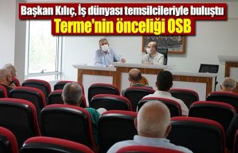 Terme'nin önceliği OSB