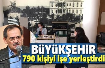Büyükşehir 790 kişiyi işe yerleştirdi