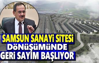 Samsun Sanayi Sitesi, dönüşümünde geri sayım başlıyor