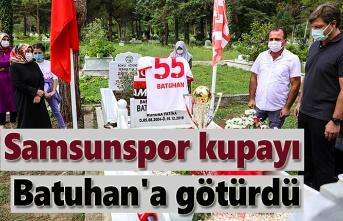 Samsunspor'un Batuhan vefası - Samsunspor haber