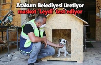 Üretim Atakum Belediyesi'nden konfor testi maskot 'Leydi'den