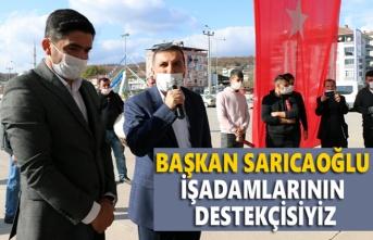 Kavak Türkiş Petrol Tesisi törenle açıldı - Kavak Haber
