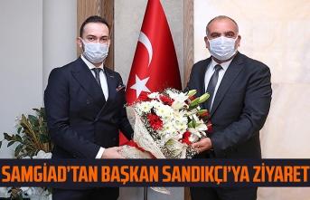 Samsun Genç İşadamları Başkan Sandıkçı ile değerlendirmelerde bulundu