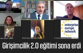 Girişimcilik 2.0 eğitim programı sona erdi - Samsun Haber