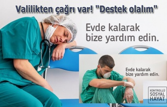 Sağlık çalışanlarına destek çağrısı - Samsun Haber