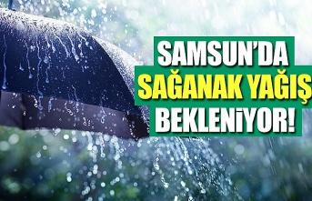 Samsun'da Hava bugün nasıl olacak, Samsun Yağmurlu ve sisli