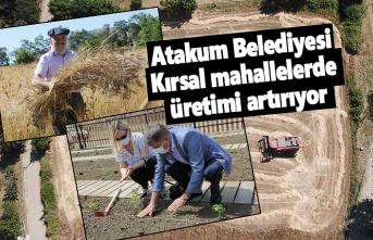 Atakum Belediyesi kırsal kalkınma projelerini tek tek yaşama geçirdi