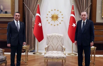 Cumhurbaşkanı Erdoğan, Başkan Koç'u ağırladı