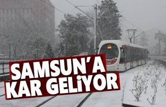 Samsun'a kar geliyor, Samsun Hava Durumu