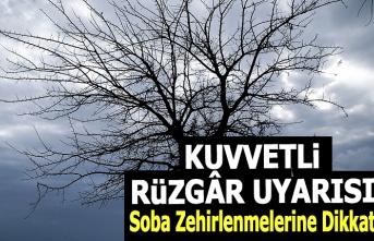 Samsun'a Kuvvetli Fırtına Uyarısı, Samsun Hava Durumu
