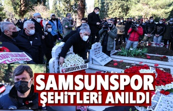 Samsunspor Şehitleri Mezarı Başında Anıldı