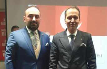 Yaşar Yazıcı Yeniden Refah Partisi İlkadım İlçe başkanı oldu