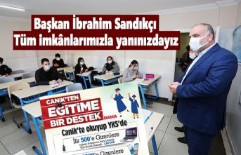 Canik Belediyesi üniversite sınavında ilk 50 bine girenlere hediyeler verecek!