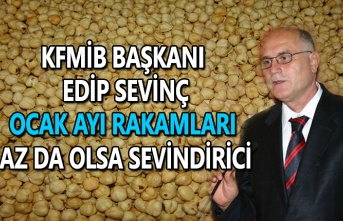KFMİB Başkanı Edip Sevinç, Ocak ayı rakamları az da olsa sevindirici
