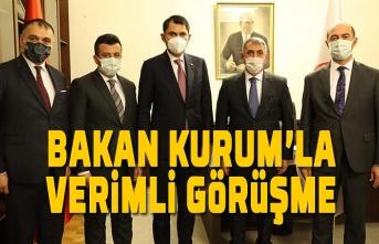 Milletvekili Köktaş ve İlçe Belediye Başkanları Bakan Kurum ile görüştü