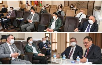 Samsun Büyükşehir Belediyesi'nde istişare toplantısı