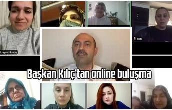 Başkan Kılıç'tan online 8 Mart Kadınlar Günü buluşması - Terme Haber
