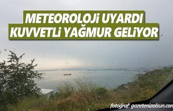 Samsun'da Kuvvetli Yağış Uyarısı, Yüksek Kesimlere Kar Yağışı