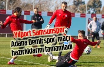 Samsunspor Adana Demirspor maçı saat kaçta hangi kanalda? Samsunspor puan durumu