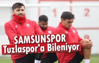 Samsunspor, Tuzlaspor'a Bileniyor