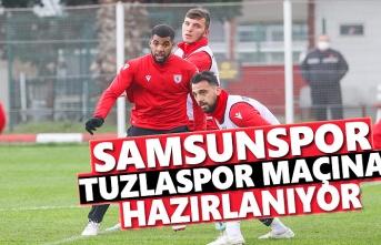 Samsunspor, Tuzlaspor Maçına Hazırlanıyor