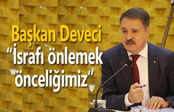 Başkan Deveci: Atakum'da israf edilmeyen bütçe hizmete dönüştü