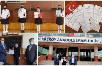 Eğitim Bir Sen'in Şiir Yarışması ödülleri sahiplerine ulaştırıldı