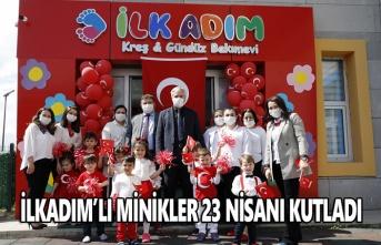 İlkadımlı minikler 23 Nisanı kutladı