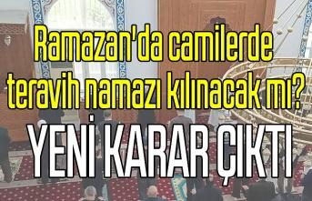 Ramazan'da camilerde teravih namazı kılınacak mı? İlk teravih ne zaman?