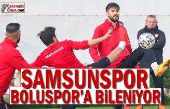 Samsunspor, Boluspor Maçı Hazırlıklarına Başladı