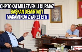 CHP Tokat Milletvekili Durmaz, Demirtaş'ı Makamında Ziyaret Etti