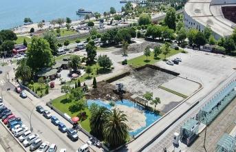 Samsun'da ilçe minibüsleri tek bir merkezde toplanacak!