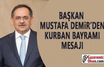 Samsun Büyükşehir Belediye Başkanı  Demir'in Kurban Bayramı Mesajı