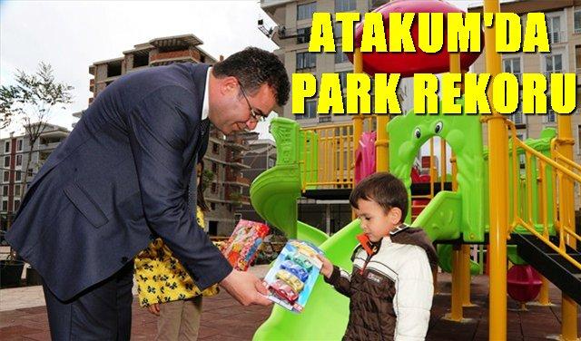 3 buçuk yılda 55 çocuk parkı
