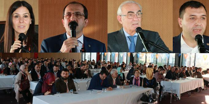 AK Parti'den Danışma Meclisi Toplantısı