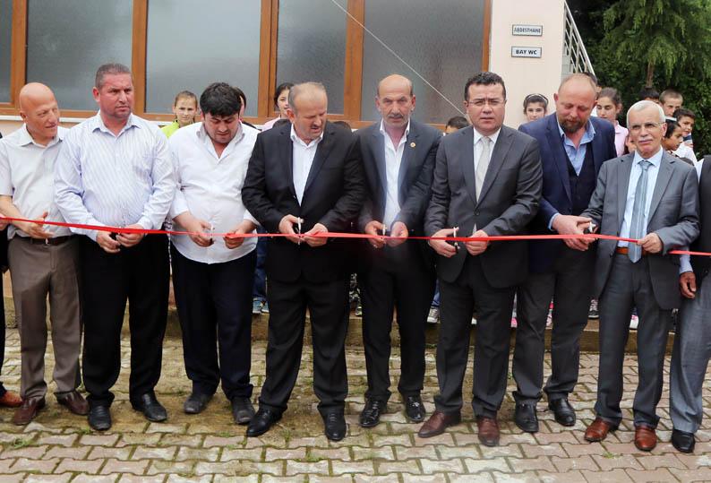 Atakum Belediyesi Hayır Çarşısı'nın 36. mağazasının açılışını yaptı