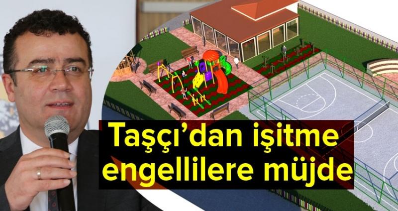 Atakum Belediyesi'nden engelliler için kafe-park projesi