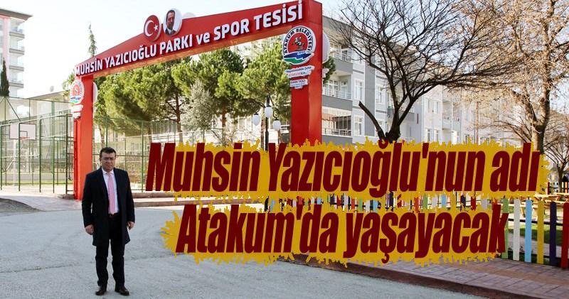 Atakum Muhsin Yazıcıoğlu Parkı ve Spor Tesisi açılışa hazır