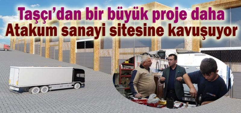 Atakum'a sanayi sitesi yapılıyor