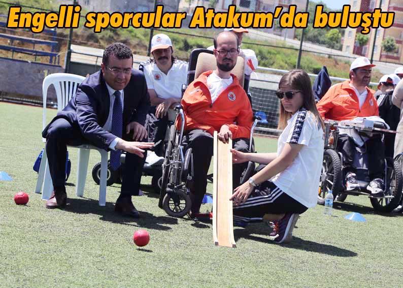 Atakum'da 'Spor yapıyoruz, engelleri aşıyoruz' etkinliği