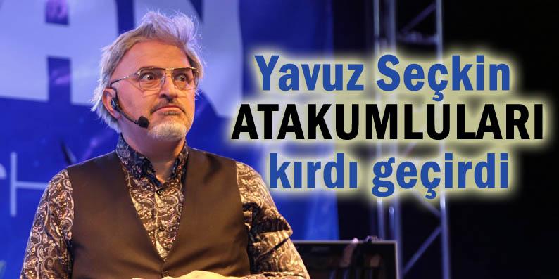 Atakum'da Yavuz Seçkin ile güldüren gece