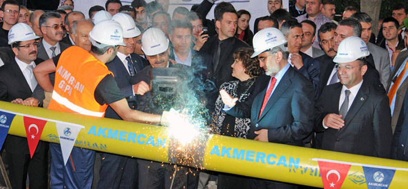 Bafra'da onbin 765 aile doğalgaz kullanıyor