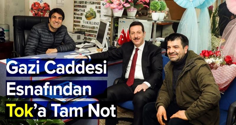 Başkan Erdoğan Tok esnafın nabzını tutuyor