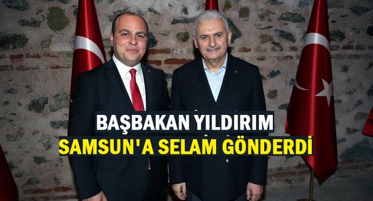 Başkan Gömeç Başbakan Yıldırım ile biraraya geldi